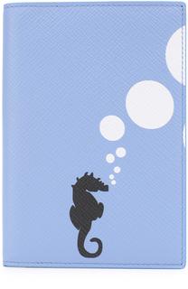 Кожаная обложка для документов Smythson