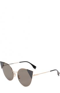 Купить женские солнцезащитные очки Fendi в интернет-магазине ... 8769e239410