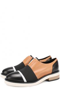 Кожаные ботинки с эластичной лентой Vic Matie