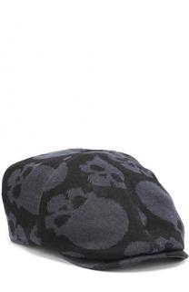 Льняное кепи с принтом в виде черепов Gemma. H