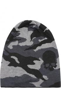 Льняная шапка с камуфляжным принтом Gemma. H