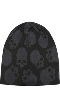 Льняная шапка с принтом в виде черепов Gemma. H