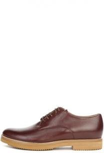 Кожаные ботинки на шнуровке Dries Van Noten