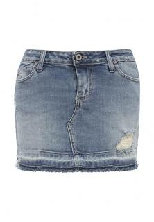 Юбка джинсовая Please