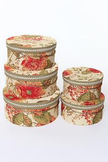 Коробочки шляпные 5 пр. Jennifer Taylor
