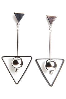 Серьги Цирконы - ZrO2 jewells