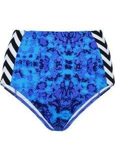 Купальные плавки (синий с рисунком) Bonprix
