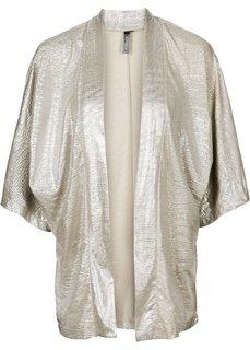 Трикотажная куртка в стиле оверсайз (золотистый) Bonprix