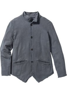 Трикотажный пиджак Slim Fit (антрацитовый) Bonprix
