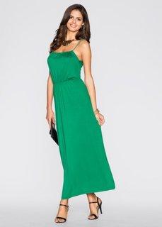 Трикотажное платье (коралловый) Bonprix