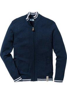 Кардиган Regular Fit (темно-синий) Bonprix