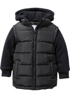 Куртка на ватной подкладке, Размеры  80/86-128/134 (черный) Bonprix