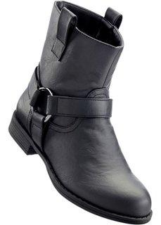Полусапожки (черный) Bonprix