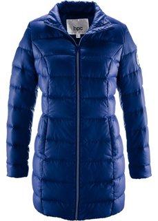 Удлиненная стеганая куртка (ночная синь) Bonprix