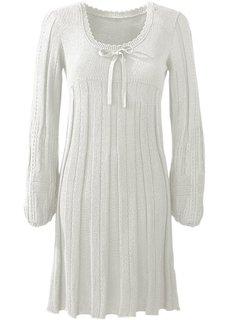 Платье (цвет белой шерсти) Bonprix
