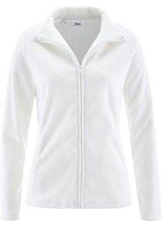 Базовая флисовая куртка (цвет белой шерсти) Bonprix