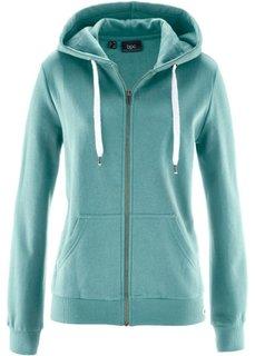 Трикотажная куртка (минерально-синий) Bonprix
