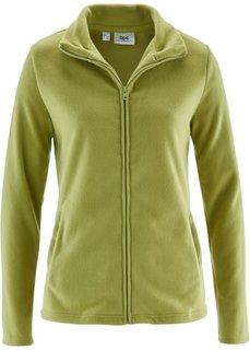 Базовая флисовая куртка (зеленый кактус) Bonprix