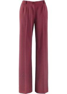 Широкие брюки стретч (кленово-красный) Bonprix