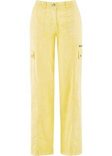 Широкие брюки (нежно-желтый) Bonprix