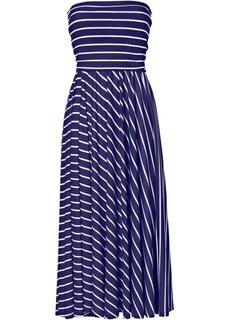 Платье (темно-синий/белый в поперечную полоску) Bonprix