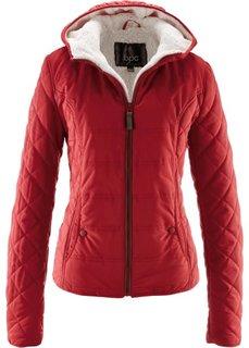 Куртка с капюшоном (темно-красный) Bonprix