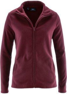 Базовая флисовая куртка (кленово-красный) Bonprix
