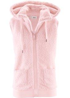 Флисовый жилет (жемчужно-розовый) Bonprix