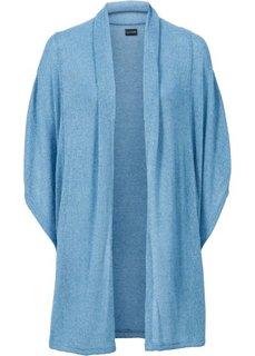 Макси-кардиган в стиле оверсайз (серо-синий) Bonprix