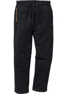 Трикотажные брюки  Regular Fit (черный) Bonprix