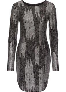 Вечернее платье (черный/серебристый) Bonprix