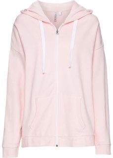 Обязательный элемент гардероба: свободный худи в стиле бойфренд (жемчужно-розовый) Bonprix