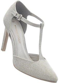Туфли от Marco Tozzi (серый) Bonprix