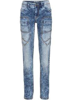 Прямые стрейтчевые джинсы, cредний рост (N) (нежно-голубой) Bonprix