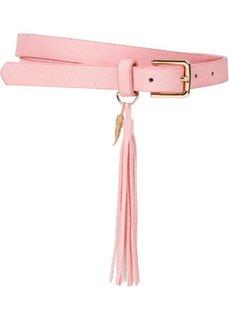 Ремень с кисточками (розовый) Bonprix
