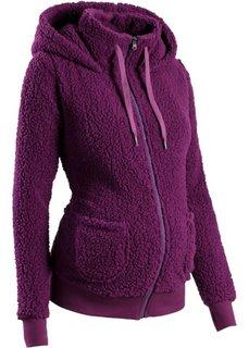 Мода для будущих мам: флисовая куртка (лиловая фиалка) Bonprix
