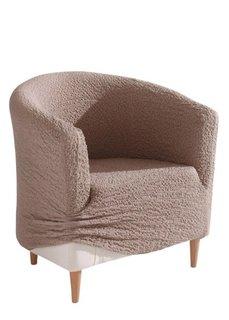 Чехол для кресла Кринкель (цвет карамели) Bonprix