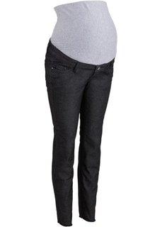 Для будущих мам: брюки до щиколотки (черный) Bonprix