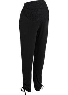Мода для беременных: брюки-стретч (черный) Bonprix
