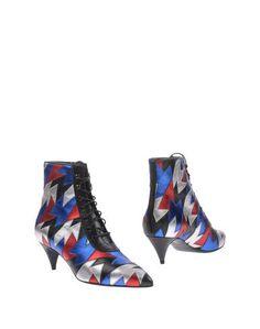 Полусапоги и высокие ботинки Saint Laurent