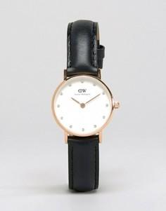 Классические черные часы Daniel Wellington Sheffield - Черный
