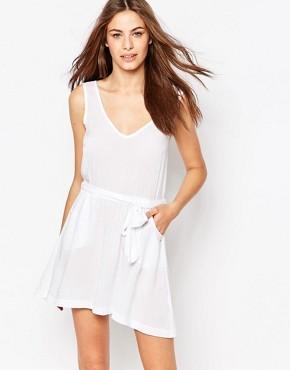 Пляжное платье с завязкой Phax - Белый