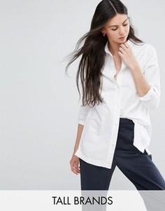 Джинсовая рубашка Waven Tall - Белый