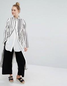 Легкое пальто Monki - Белый