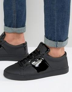 Кожаные кроссовки Religion Flander - Черный