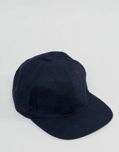 Шерстяная бейсболка Ted Baker - Синий