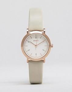 Часы с серым кожаным ремешком DKNY Minetta NY2514 - Серый