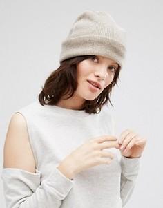 Кашемировая шапка Johnstons - Кремовый