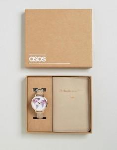 Часы и обложка для паспорта ASOS Oh The Places We Will Go - Серый