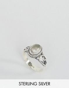 Кольцо с кварцем - камнем для родившихся в апреле Rock N Rose - Серебряный